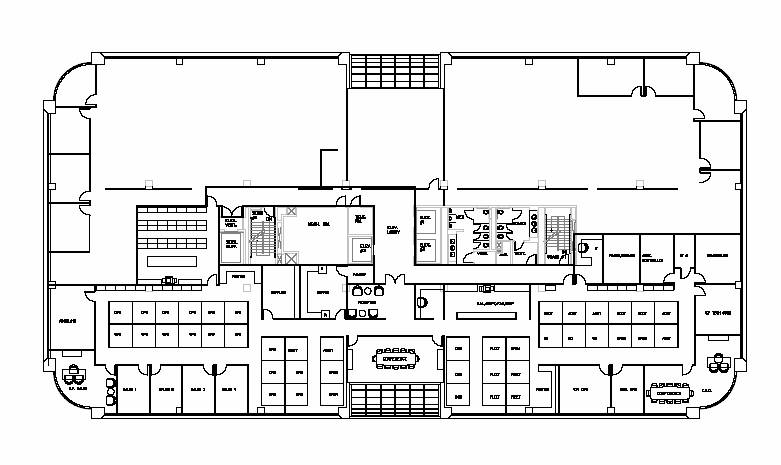 office space floor plan. The Prototype Space Plan. Office Floor Plan G