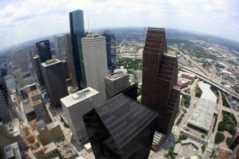 Houston skyline cbd