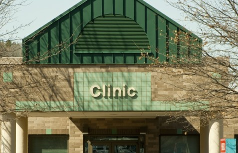 medical clinic sign